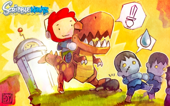 Super-Scribblenauts-Coming-This-Fall