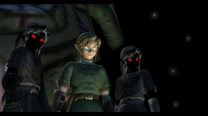 Link and Shadow Link, ready to serve you with fava beans and a nice chianti