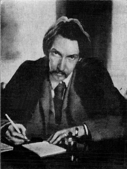 Robert Louis Stevenson when they pitched the bird shit idea to him.