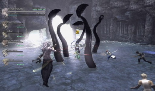 You know, I find it amazing how this in no way resembles the octopus battle from Final Fantasy IV.