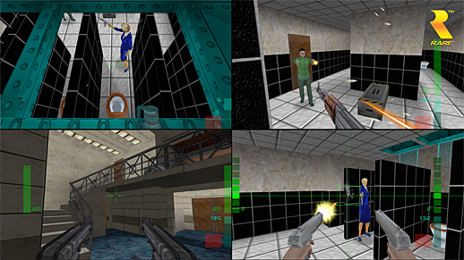 To emphasize the connection with Goldeneye, look at this bathroom.