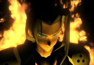 """""""Must look intimidating...can't let them see...hair burning..."""""""