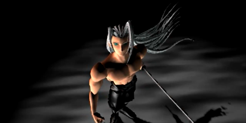 He's too sexy for his shirt, so sexy it hurts! He's too sexy for that sword...
