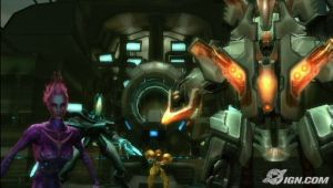 Samus's posse. She gets a posse in this game.