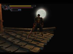 I hear the Castlevania production team let Onimusha use their set at night (but they had to share with Spanish Castlevania)
