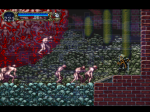 So we fight a massive sphere of conglomerated corpses in a room that makes the Paris Catacombs look cheery...but we fight Dracula at the end? Have you no sense of escalation?