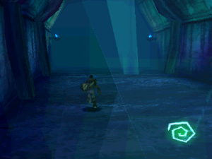 Yep...spectral realm here. Not too much going on. Nice and blue, though.