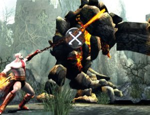 "If you press square by mistake, Kratos pulls out a banjo and starts singing ""Ain't Misbehavin'"" And then the minotaur kills him."