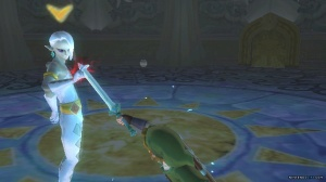 I like sword fighting as much as the next guy, but this doesn't quite seem grand enough for a Zelda boss.