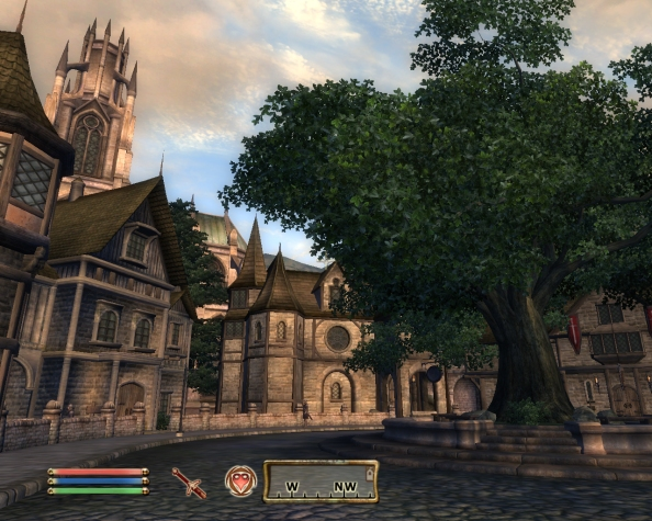Yep...I've discovered yet another Medieval-y looking town.