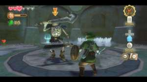 Oh no! If only someone had designed this game in a way that let me swing my sword sideways! Like every other Zelda game!