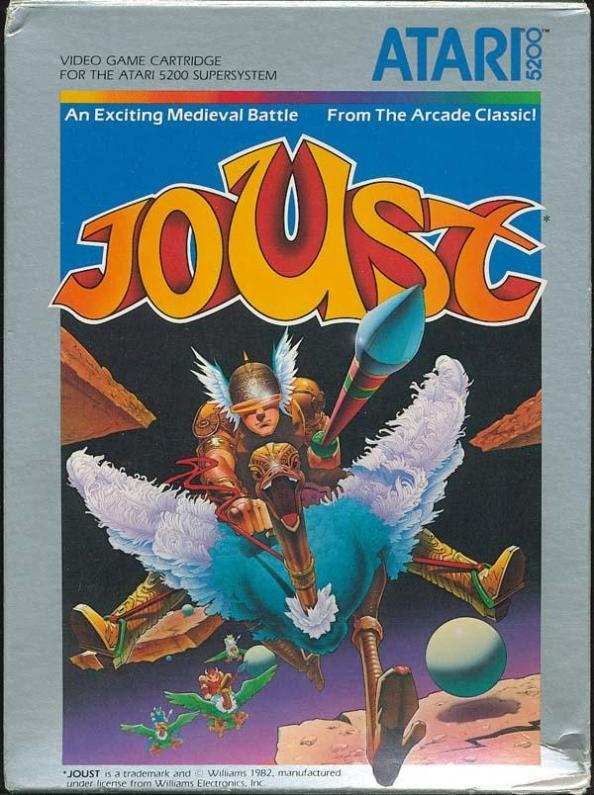 Joust Box Scan (Front)