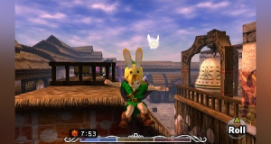 The Bunny Hood: Because continuously rolling across Hyrule field didn't actually make you move faster.