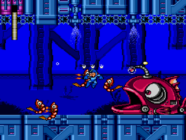 FIsh Mega Man Wily Wars
