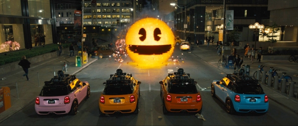 Pixels Pac Man Cars