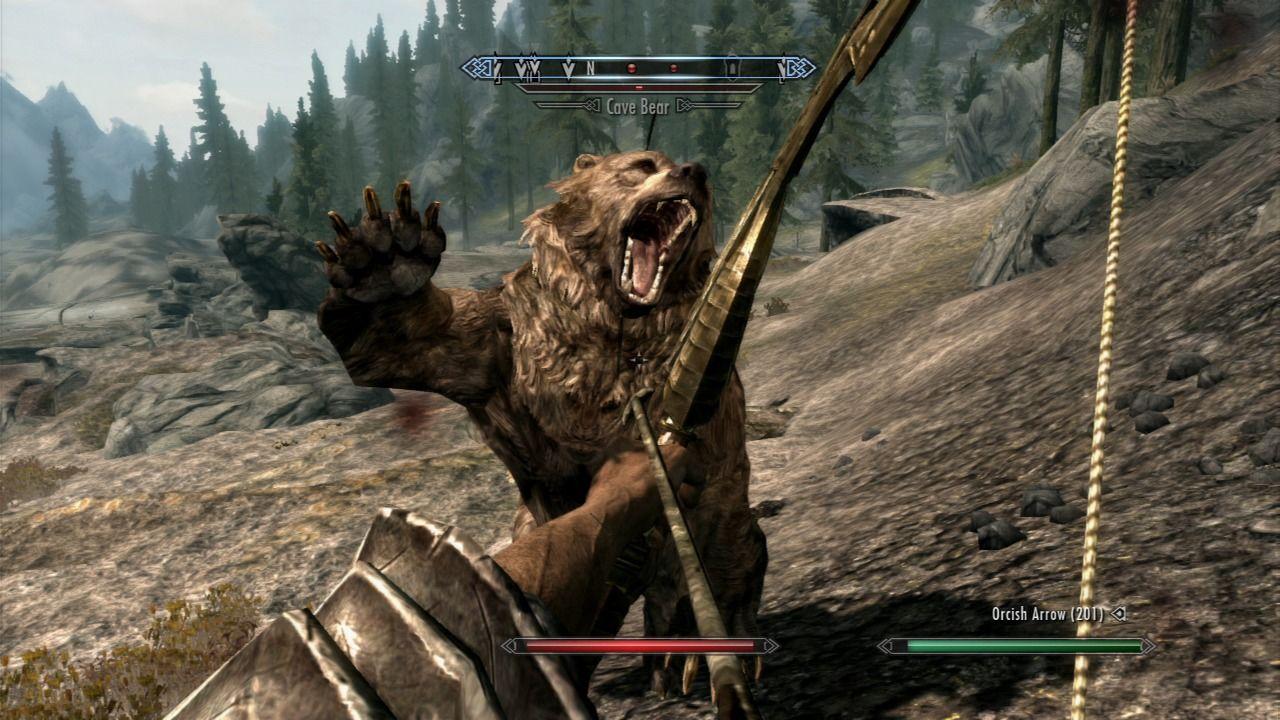 Skyrim Bear
