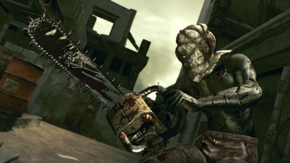RE5 - Chainsaw