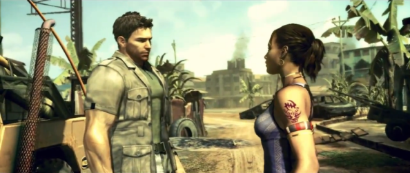 RE5 Chris and Sheva