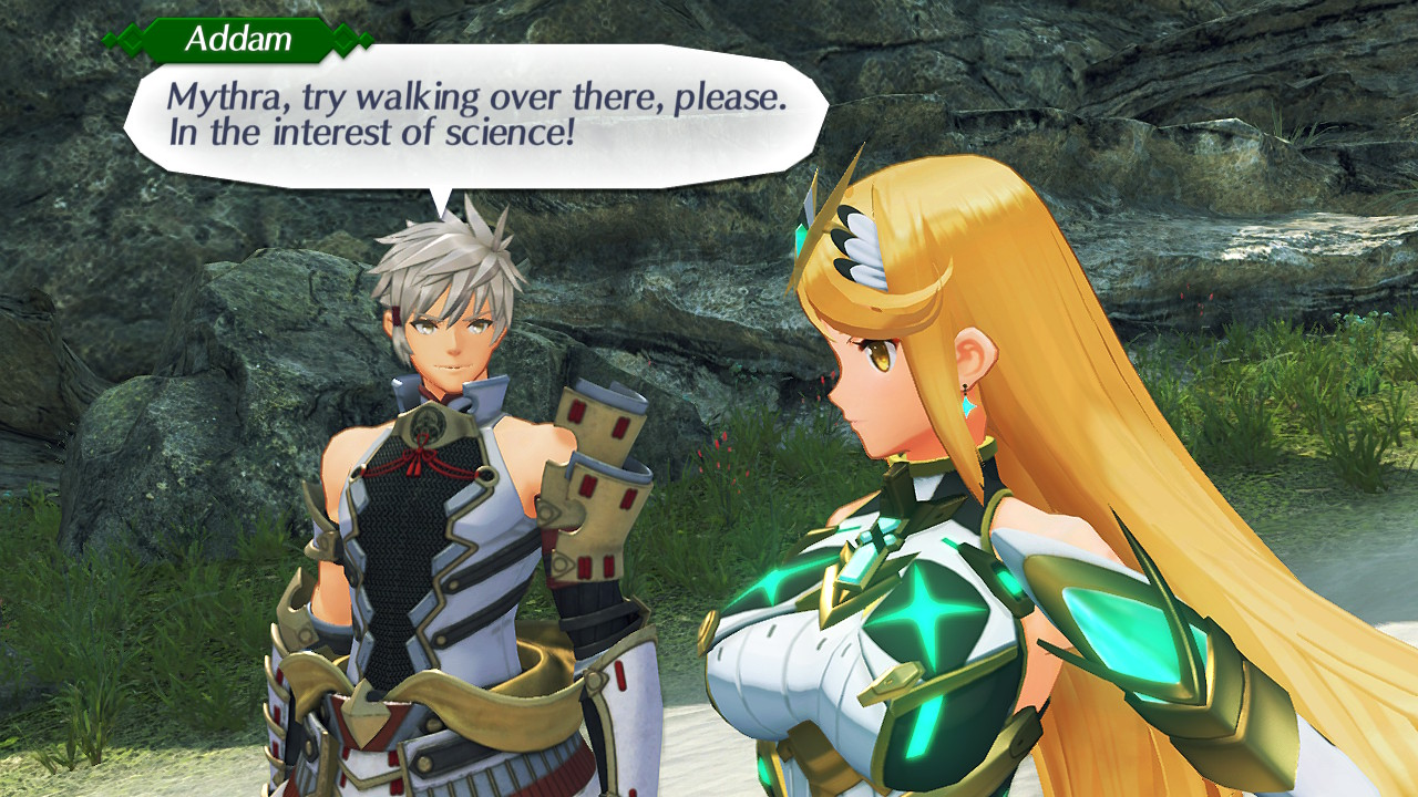 Xenoblade Mythra Interest of Science